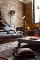 Colorful brick wall design ideas for home interior ideas 25