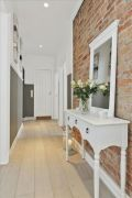 Colorful brick wall design ideas for home interior ideas 27