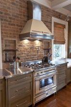 Colorful brick wall design ideas for home interior ideas 41