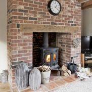 Colorful brick wall design ideas for home interior ideas 45