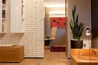 Colorful brick wall design ideas for home interior ideas 47