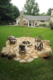 Comfy green country backyard remodel ideas 18