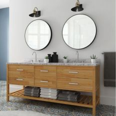 Cool bathroom mirror ideas 11