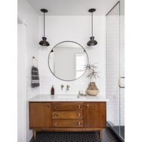 Cool bathroom mirror ideas 22