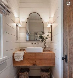 Cool bathroom mirror ideas 33