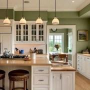 Cozy color kitchen cabinet decor ideas 01