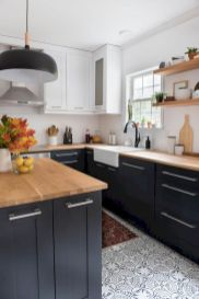 Cozy color kitchen cabinet decor ideas 05