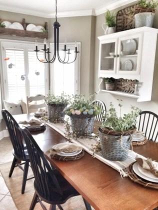 Cozy color kitchen cabinet decor ideas 46