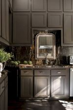 Cozy color kitchen cabinet decor ideas 48