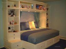 Cute diy bedroom storage design ideas for small spaces 01