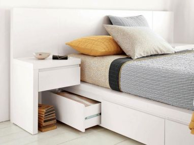 Cute diy bedroom storage design ideas for small spaces 02