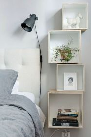 Cute diy bedroom storage design ideas for small spaces 07