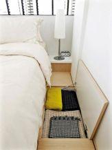 Cute diy bedroom storage design ideas for small spaces 17