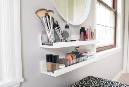 Cute diy bedroom storage design ideas for small spaces 27