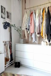 Cute diy bedroom storage design ideas for small spaces 43
