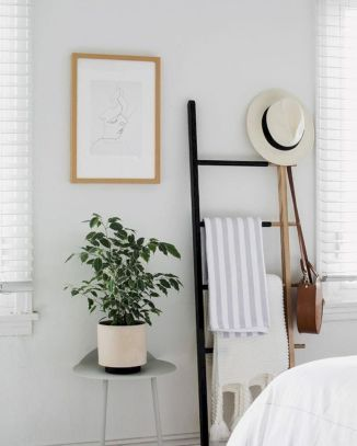 Cute diy bedroom storage design ideas for small spaces 47