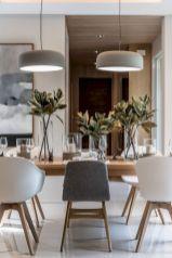 Elegant industrial metal chair designs for dining room 09