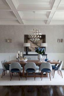 Elegant industrial metal chair designs for dining room 18