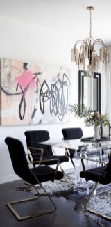 Elegant industrial metal chair designs for dining room 21