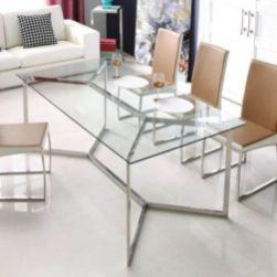 Elegant industrial metal chair designs for dining room 29