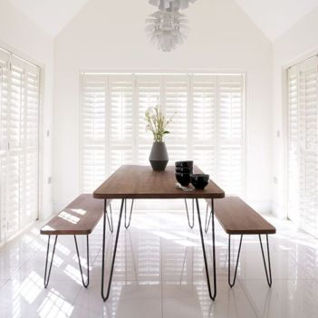 Elegant industrial metal chair designs for dining room 47