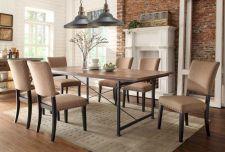 Elegant industrial metal chair designs for dining room 50