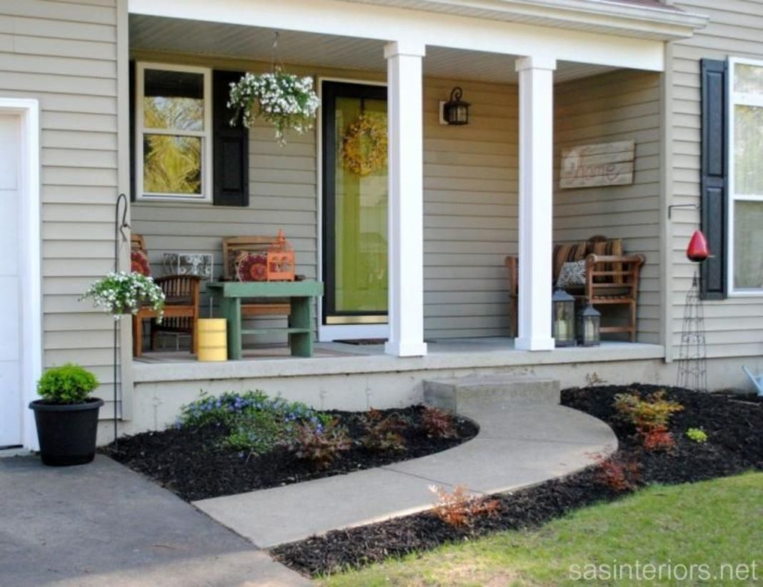 Fantastic front porch decor ideas 05
