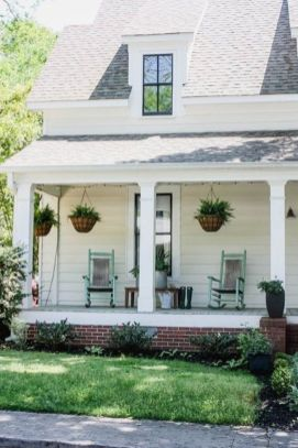 Fantastic front porch decor ideas 09