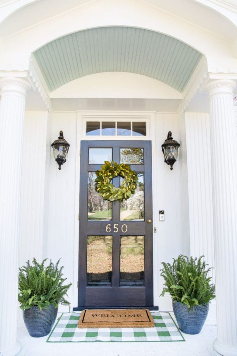 Fantastic front porch decor ideas 23