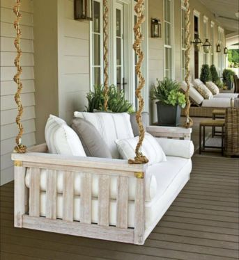 Fantastic front porch decor ideas 42