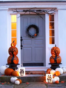 Fantastic front porch decor ideas 43