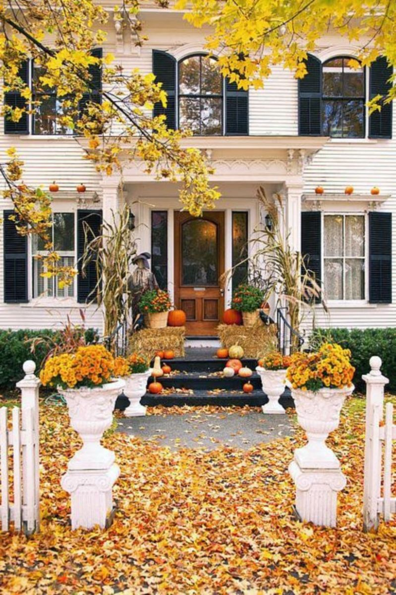 Fantastic front porch decor ideas 44