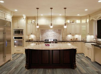 Fascinating colorful glass pendant lamps ideas for your kitchen 28