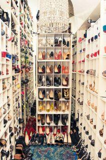 Luxury antique shoes rack design ideas 13