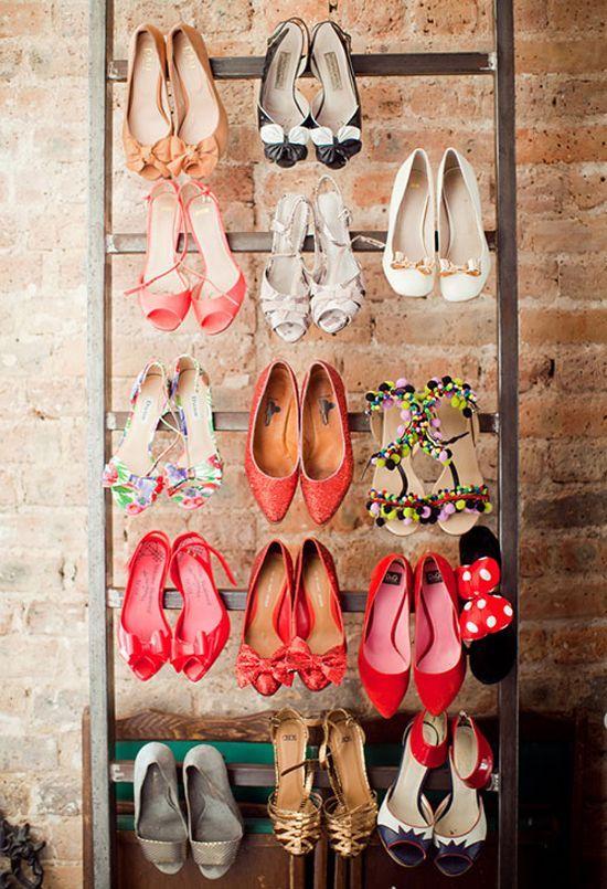 Luxury antique shoes rack design ideas 34