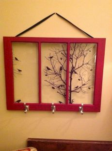 Newest diy vintage window ideas for home interior makeover 01