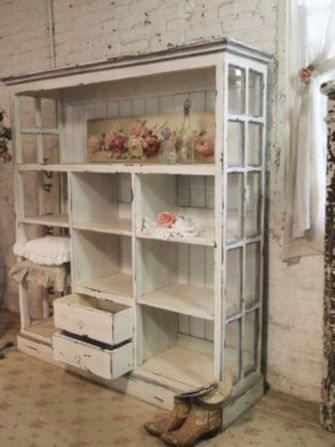 Newest diy vintage window ideas for home interior makeover 23