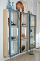 Newest diy vintage window ideas for home interior makeover 41
