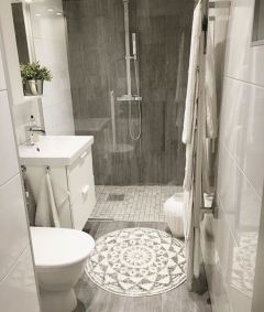 Perfect master bathroom design ideas for small spaces 14
