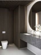 Perfect master bathroom design ideas for small spaces 15