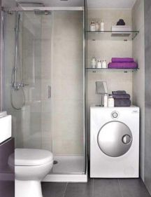 Perfect master bathroom design ideas for small spaces 18