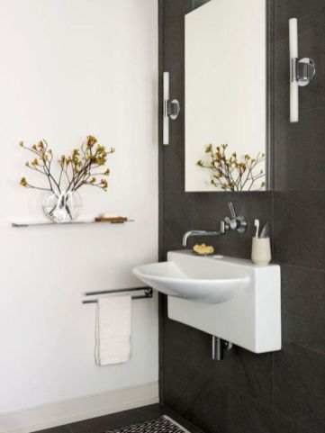 Perfect master bathroom design ideas for small spaces 25