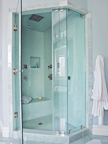 Perfect master bathroom design ideas for small spaces 26