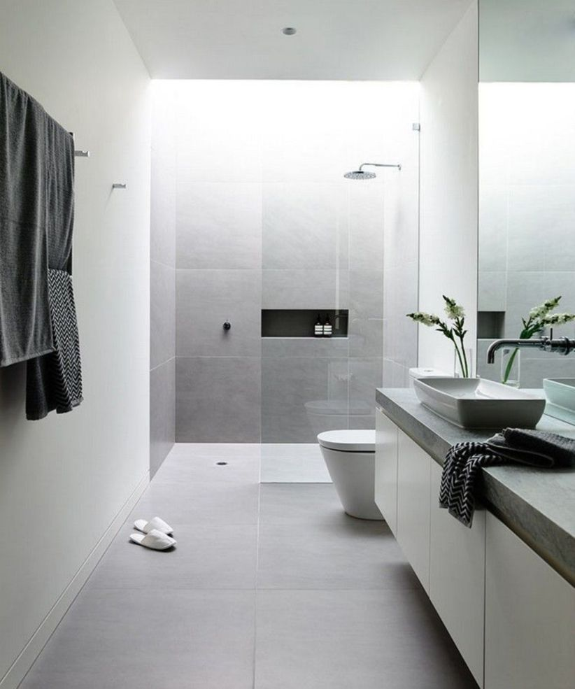 Perfect master bathroom design ideas for small spaces 30