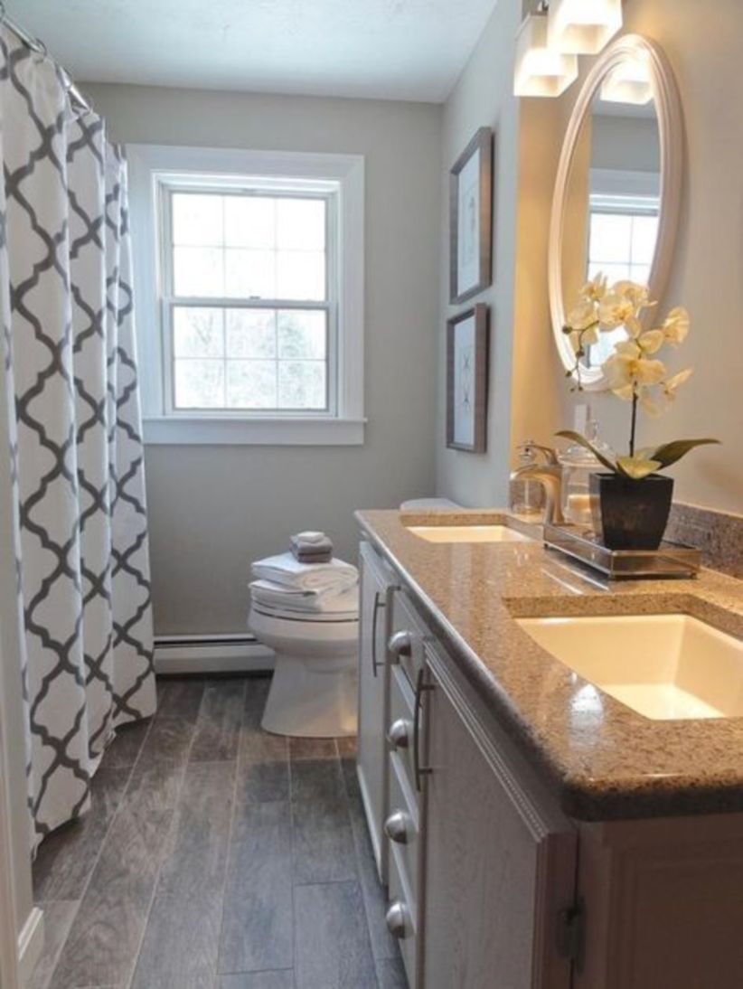 Perfect master bathroom design ideas for small spaces 41
