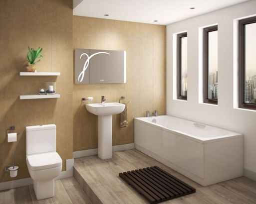 Perfect master bathroom design ideas for small spaces 44