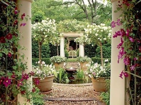 Stunning landscape pathways ideas for your garden 11
