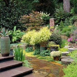 Stunning landscape pathways ideas for your garden 18