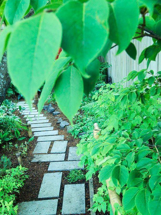 Stunning landscape pathways ideas for your garden 20
