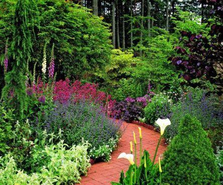 Stunning landscape pathways ideas for your garden 26